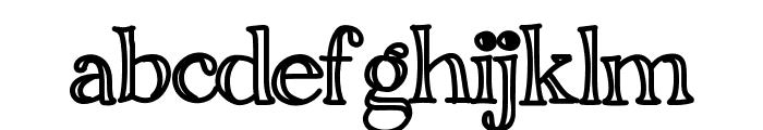 YBMoonDance Font LOWERCASE