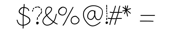 YBShadowTracer Font OTHER CHARS