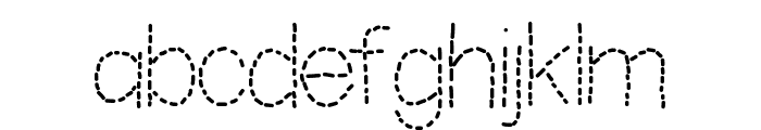 YBShadowTracer Font LOWERCASE