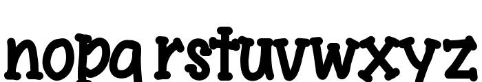 YBSingingTheBlues Font LOWERCASE