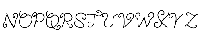 YBTheChosenOne Font UPPERCASE