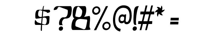 YBandTuner-Regular Font OTHER CHARS
