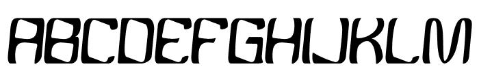 YBandTuner-Regular Font LOWERCASE