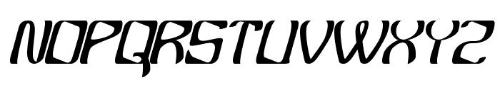 YBandTuner Font UPPERCASE