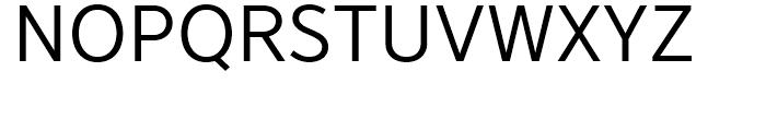 YD Gothic 700 50 Font UPPERCASE