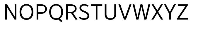 YD Gothic 705 50 Font UPPERCASE
