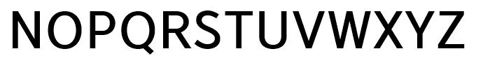 YD Gothic 705 70 Font UPPERCASE