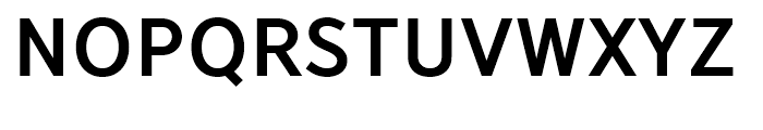 YD Gothic 705 80 Font UPPERCASE