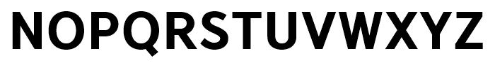 YD Gothic 705 90 Font UPPERCASE