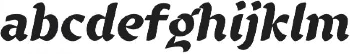 YE Benjamin Bold otf (700) Font LOWERCASE