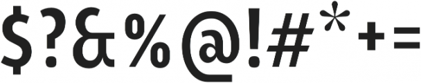 YE Paradigma BoldCondensed otf (700) Font OTHER CHARS