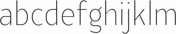 YE Paradigma ExtraLightCondensed otf (200) Font LOWERCASE