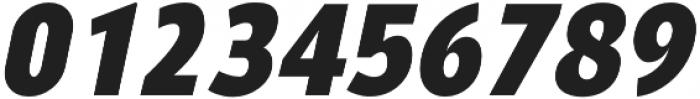 YE Paradigma ItalicBlack otf (900) Font OTHER CHARS