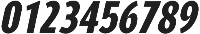 YE Paradigma ItalicBlackCondensed otf (900) Font OTHER CHARS