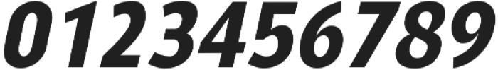 YE Paradigma ItalicBold otf (700) Font OTHER CHARS