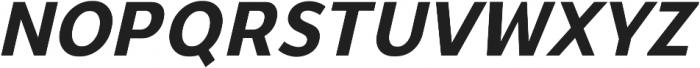 YE Paradigma ItalicBold otf (700) Font UPPERCASE