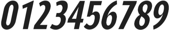 YE Paradigma ItalicBoldCondensed otf (700) Font OTHER CHARS