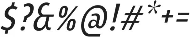 YE Paradigma ItalicRegularCondensed otf (400) Font OTHER CHARS