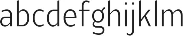 YE Paradigma LightCondensed otf (300) Font LOWERCASE