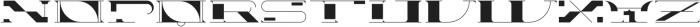 Yeezus otf (400) Font UPPERCASE