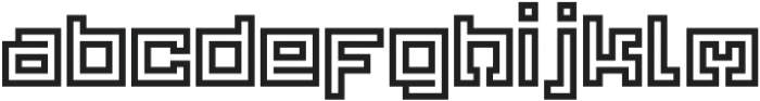Yekuana Pro otf (400) Font LOWERCASE