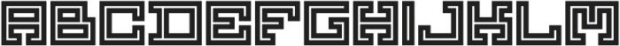 Yekuana Pro otf (700) Font UPPERCASE