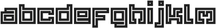 Yekuana Pro otf (700) Font LOWERCASE