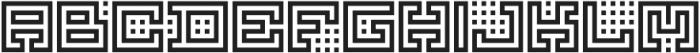 Yekuana Regular otf (400) Font UPPERCASE