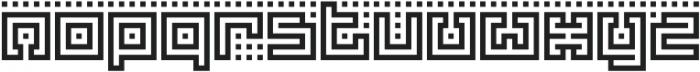 Yekuana Regular otf (400) Font LOWERCASE