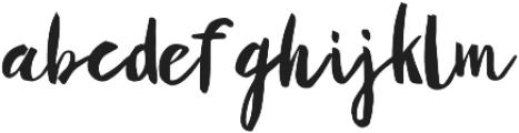 Yellow Honey Regular otf (400) Font LOWERCASE