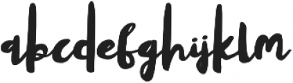 Yellow Shoes otf (400) Font LOWERCASE