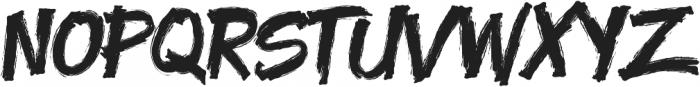 Yenoh Brush ttf (400) Font UPPERCASE