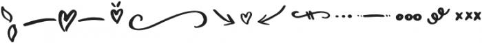 Yesmina Doodle otf (400) Font LOWERCASE