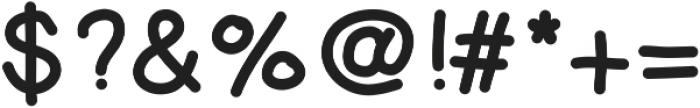 Yeti ttf (400) Font OTHER CHARS