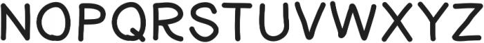 Yeti ttf (400) Font UPPERCASE