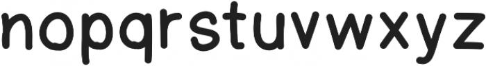 Yeti ttf (400) Font LOWERCASE