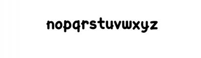 Yellow Cat.ttf Font LOWERCASE