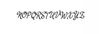 yerbaluisa_font.ttf Font UPPERCASE
