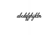 yerbaluisa_font.ttf Font LOWERCASE