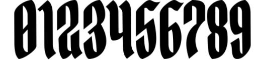 Yerington Typeface Font OTHER CHARS