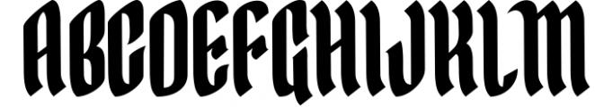 Yerington Typeface Font UPPERCASE