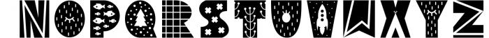 Yeti - Scandinavian font & elements 1 Font UPPERCASE