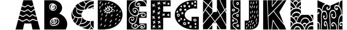 Yeti - Scandinavian font & elements 1 Font LOWERCASE