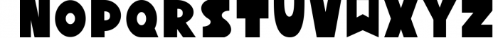 Yeti - Scandinavian font & elements Font LOWERCASE