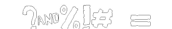 YES_outline Book Font OTHER CHARS