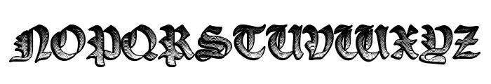 Ye Olde Oak Font UPPERCASE