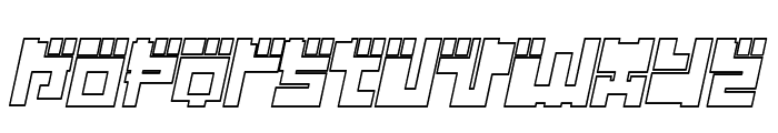 Year 2000 Replicant Font UPPERCASE