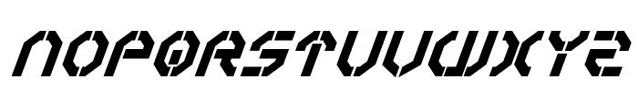 Year 3000Bold Italic Font UPPERCASE