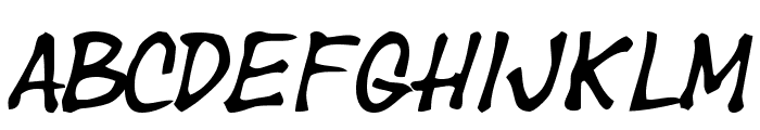 Year supply of fairy cakes Font LOWERCASE