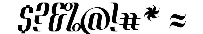 Year2000-Context-Regular Font OTHER CHARS